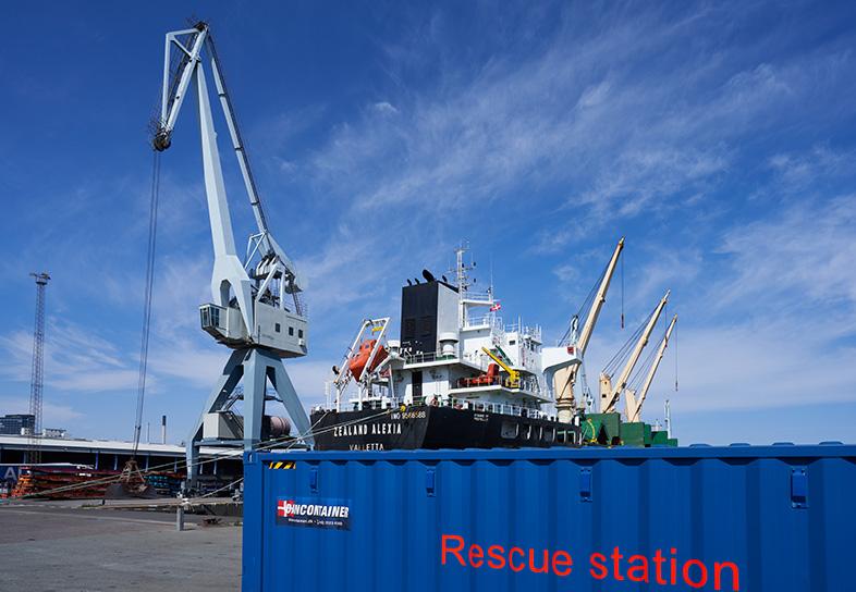 Aarhus Havn Rescue Station